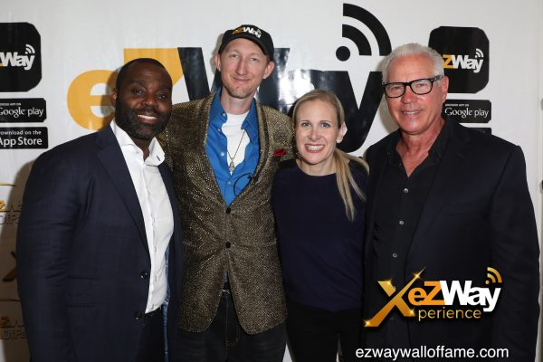 Newport Beach, California, USA. 7th June, 2021. Jermain Miller, Eric Zuley, Hannah Horenstein, and Omar Periu attending the EZWay Network's 'From Zero to Wealth TV Show Celebration' held at a private location in Newport Beach, California. Credit:  Sheri Determan