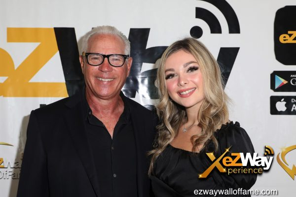 Newport Beach, California, USA. 7th June, 2021. Entrepreneur/speaker Omar Periu and daughter Alexandra Periu attending the EZWay Network's 'From Zero to Wealth TV Show Celebration' held at a private location in Newport Beach, California. Credit:  Sheri Determan