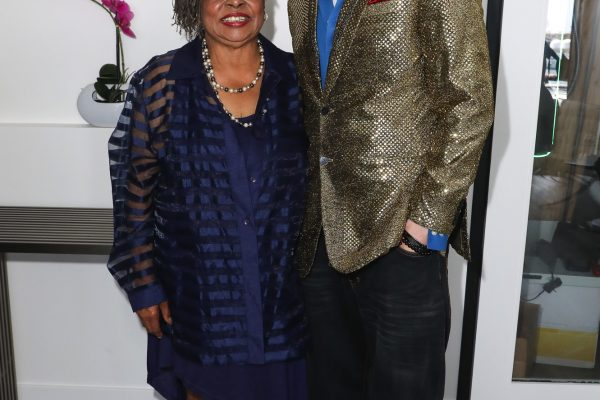Newport Beach, California, USA. 7th June, 2021. Actress Reatha Grey and CEO/TV host Eric Zuley attending the EZWay Network's 'From Zero to Wealth TV Show Celebration' held at a private location in Newport Beach, California. Credit:  Sheri Determan